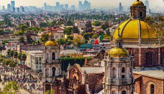 Độ cao của thành phố Mexico so với mực nước biển ngày càng giảm