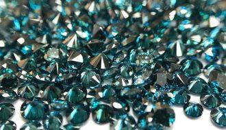 Kim cương xanh được tạo ra từ các đại dương cổ