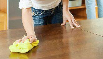 Mẹo giúp đồ nội thất bằng gỗ nhà bạn luôn sáng bóng