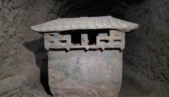 """Những món ăn """"đẹp mắt"""" được phát hiện trong lăng mộ 2400 năm"""
