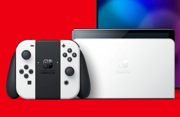 Nintendo Switch OLED – Máy chơi game màn hình LED mới ra mắt