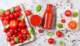 Tác dụng và cách làm những ly cà chua ép thơm ngon